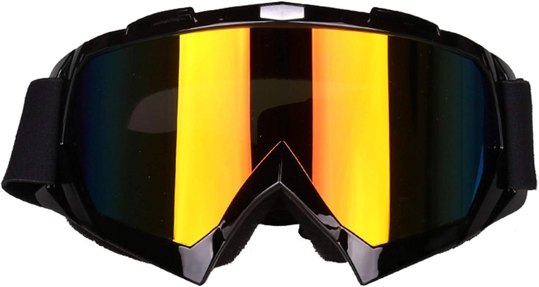 KnBoB Snowboardbrille Herren Motocross Brille Verspiegelt Sport Brille Band