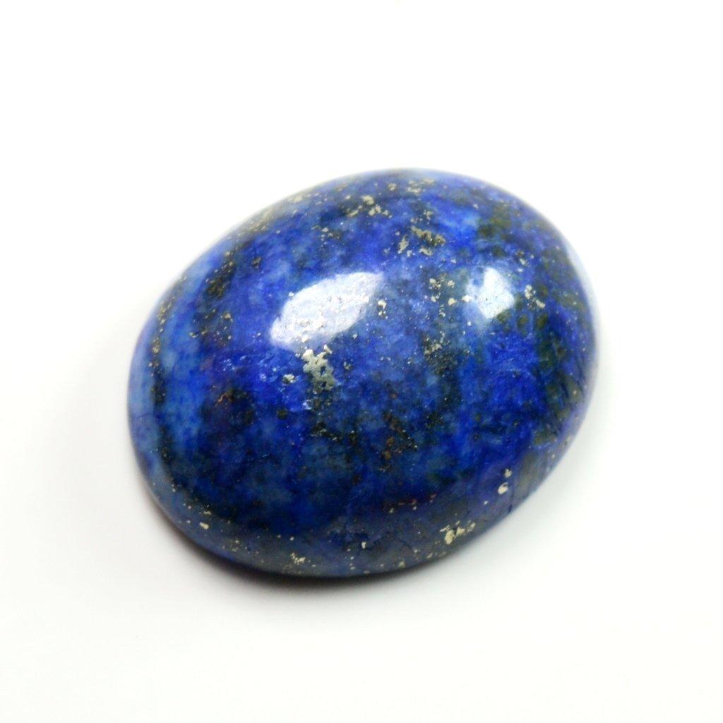 55/carats Lapis Lazuli Pierre 9/carats dorigine naturelle ovale Pierre pr/écieuse de courroie