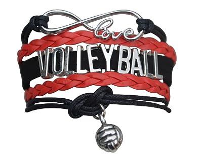Amazon.com: Voleibol bracelet- las niñas Voleibol Voleibol ...