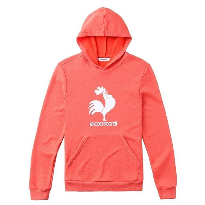 Le Coq Sportif - Sudadera le Coq Sportif bariva - S, rojo: Amazon.es: Ropa y accesorios
