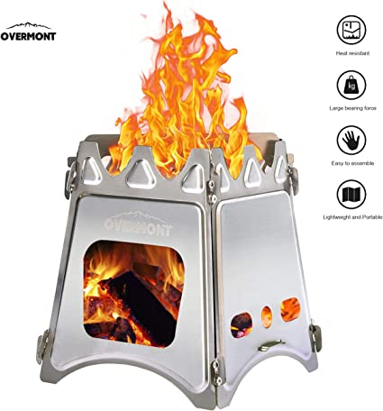Portable Mini Alcohol Aluminum Alloy Stove Outdoor Camping Picnic Hiking Cook NM