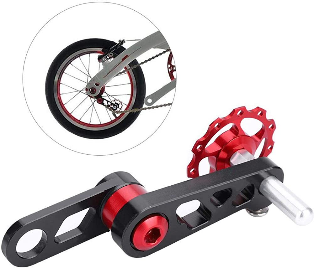 bicycle chain adjuster tensioner aluminum alloy bolt for bike single speed B WD