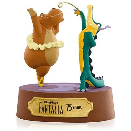 Amazoncom Disney Fantasia Dancing Hippo And Alligator Ornament