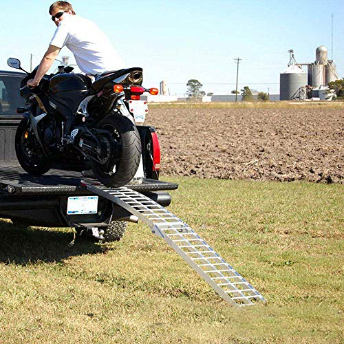 Toolsempire 7.5' Arched Motorcycle Bike Folding Loading Ramps by Toolsempire (Image #5)