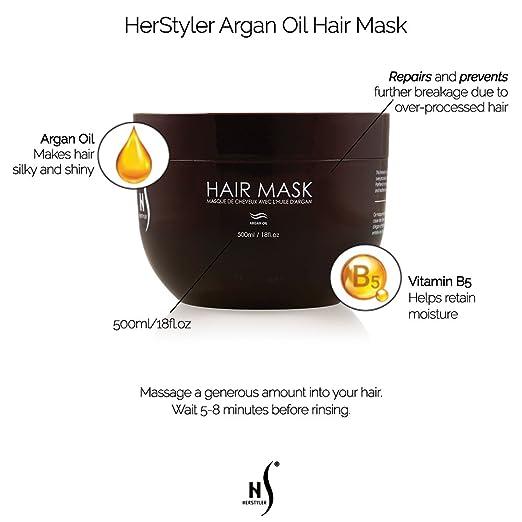Amazon.com: Herstyler Agran Oil Hair Mask, 17 Ml. / 17 Fl. Oz ...
