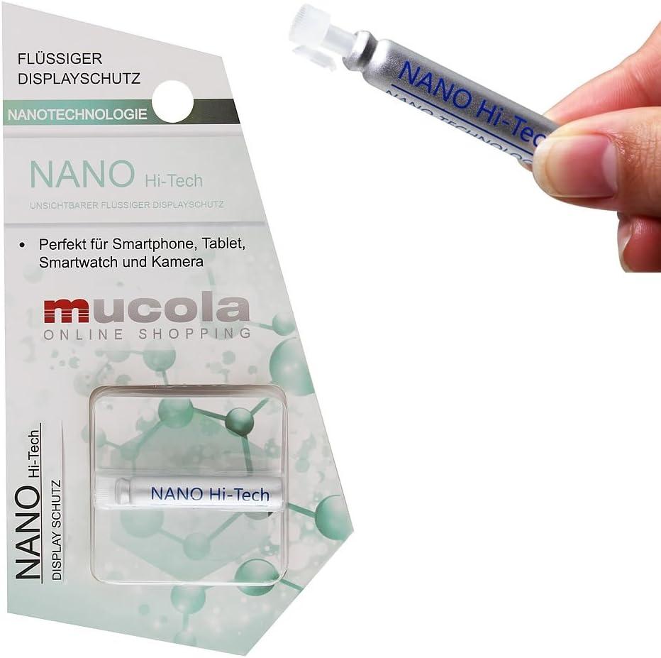 Unbekannt Melko Funda Hi-Tech – Protector de Pantalla líquido ...