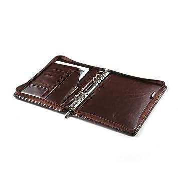 Xiaozhi - Cartera portadocumentos de piel con archivador y bolsillo para iPad Mini: Amazon.es: Electrónica