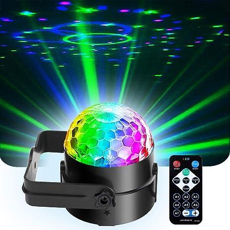 sbolight etapa luces pequeña discoteca DJ Fiesta led 7colors ...