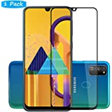 FanTing for Samsung Galaxy M31 Screen Protector,[9H Hardness,Full Coverage,No bubbles and fingerprint],Scratch-resistant high-quality tempered glass film for Samsung Galaxy M31-Black(1 Pack)