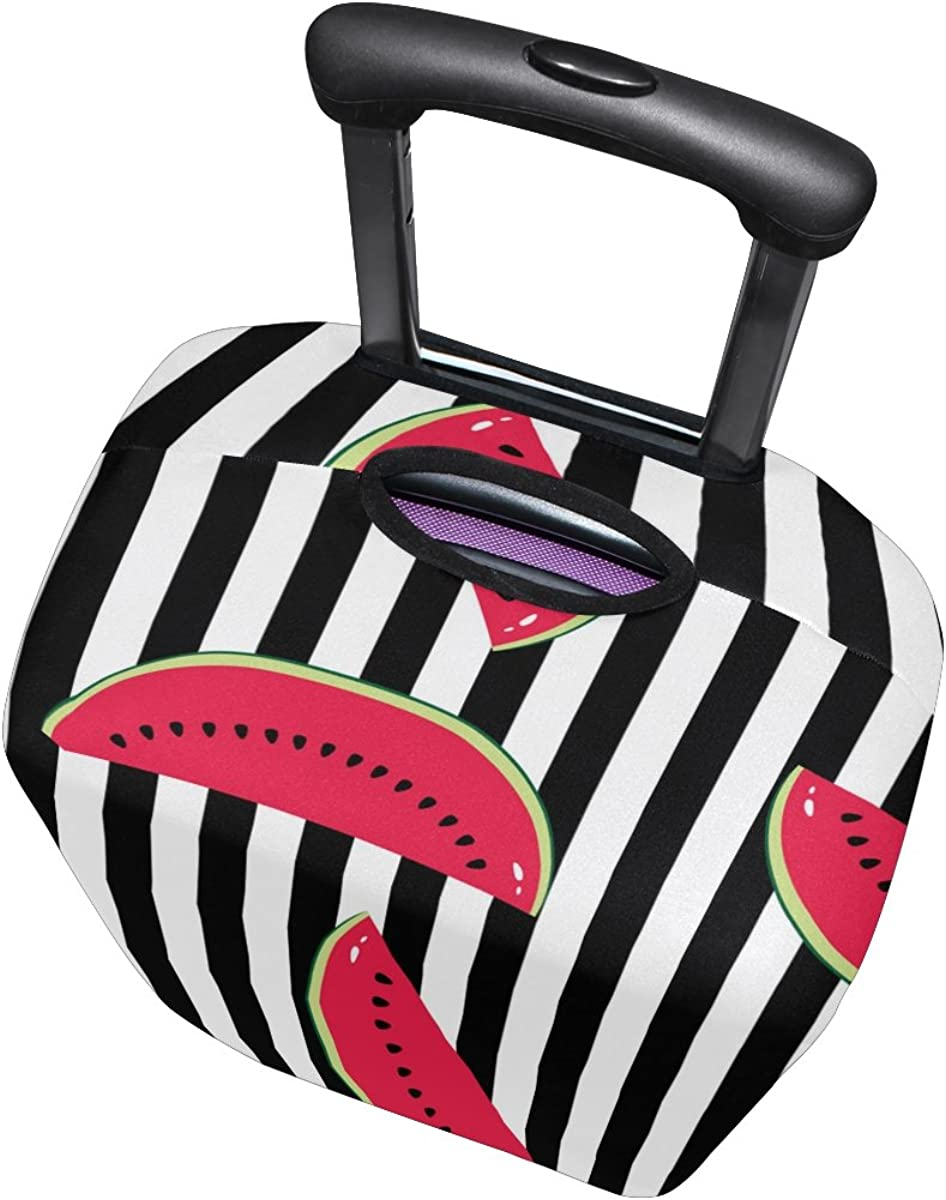 GIOVANIOR Watermelon Stripes Luggage Cover Suitcase Protector Carry On Covers