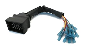 61IwZON%2BxQL._SX355_ amazon com snow plow wiring harness repair kit (plow side automotive wiring harness repair at gsmx.co
