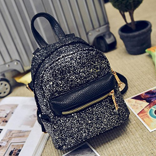 Negro mochila viaje Mochila de de Mochila de Internet mujer FS7wxgq4