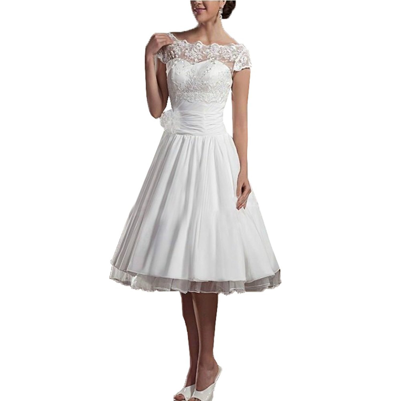 Aurora dresses Damen Vintage Beach Hochzeitskleid Vintage ...
