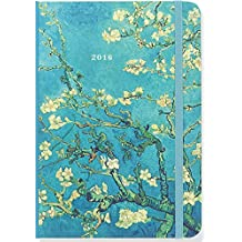 2016 Almond Blossoms Weekly Planner (16-Month Engagement Calendar, Diary)