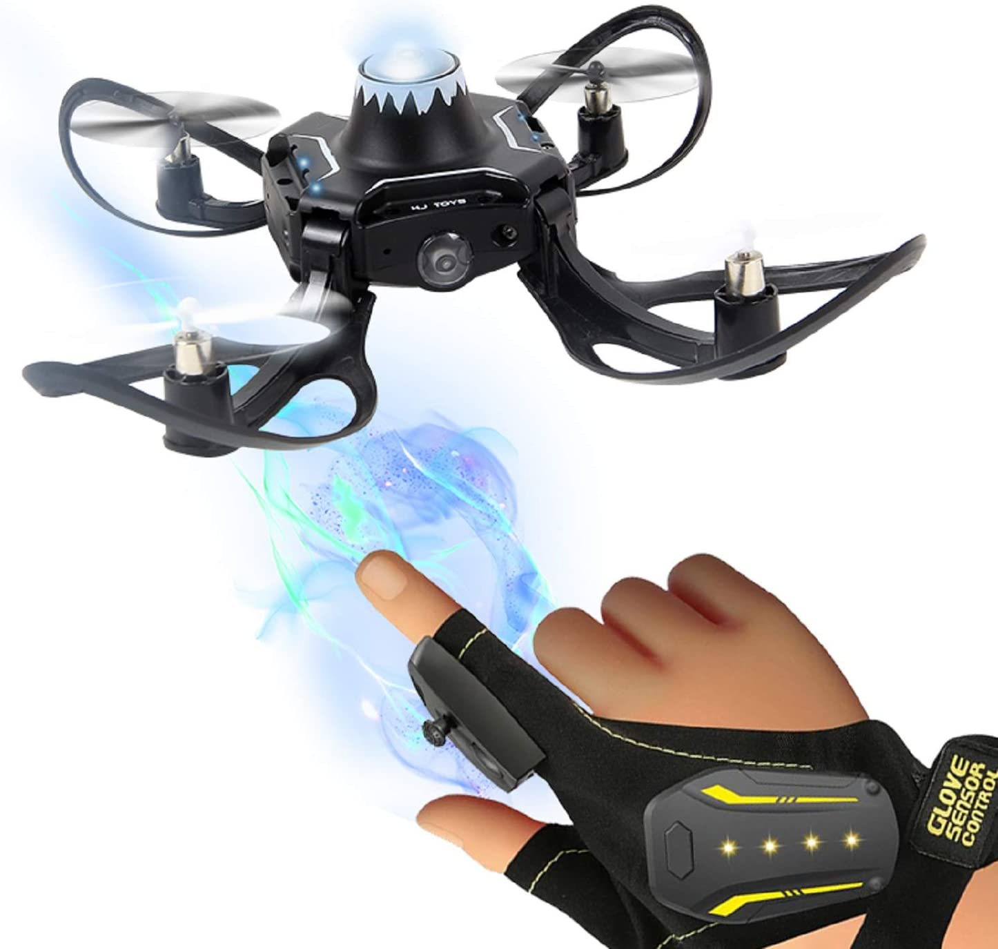 TongLi HJ835 Hand Sensor Foldable Quadcopter