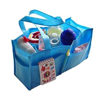 Bolsa de almacenamiento de pañales portátil para bebé Cornasee, ecol&oacute