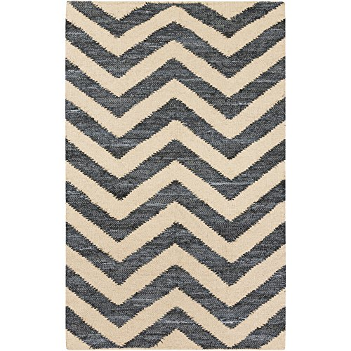 Surya DNM1002-23 Hand Loomed Casual Accent Rug, 2-Feet by 3-Feet ()