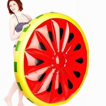 """Aufblasbare Luftmatratze /""""Wassermelone/"""" Schwimmbad Spielzeug See Pool-Party Meer"""