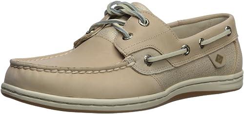 Koifish Sparkle Boat Shoe, Linen