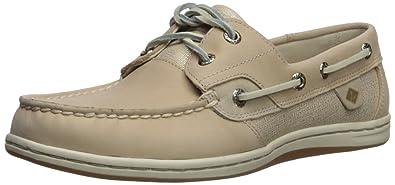 0389116c408f Sperry Women s Koifish Sparkle Boat Shoe Linen 5 Medium US
