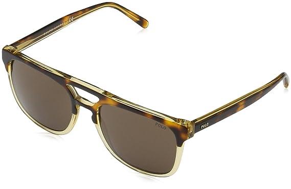 f9adf06612 Polo Ralph Lauren Men s 0ph4125 Square Sunglasses light havana on pinot  grigio 54.0 mm