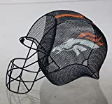 Team Sports America NFL Denver Broncos Football Helmet Bottle and Cork Cage Holder, Small, Multicolored