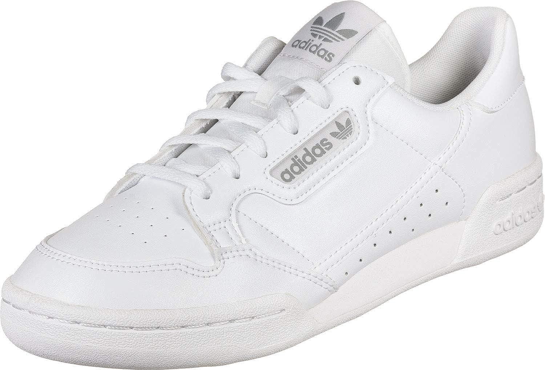Amazon.com | adidas Originals Continental 80 J White/Grey ...