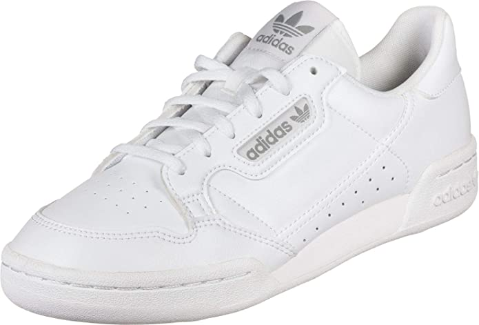 adidas Originals Continental 80 J White/Grey One Leather 3.5 UK