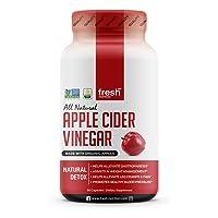 Organic Apple Cider Vinegar Capsules Pills for Weight Loss Strongest per Serving...