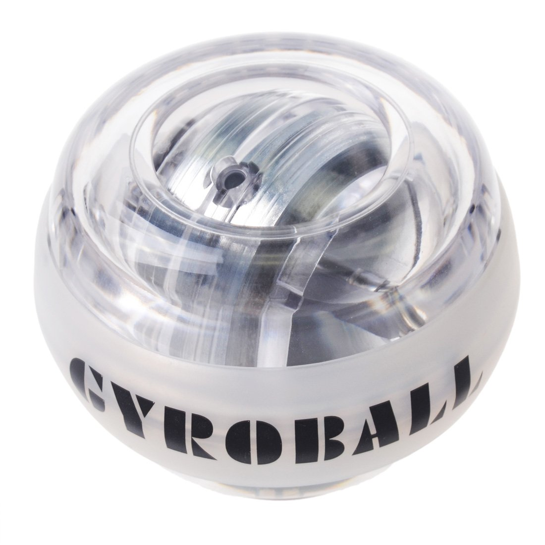 RESBO Wrist Trainer Workout Ball Exerciser Hand Spinner Gyroscopic Ball Metal Type LED Light with LCD Display Speedometer