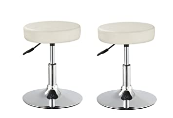 Amazon.com: Duhome Set of 2 Medical Stools Office Reception ...