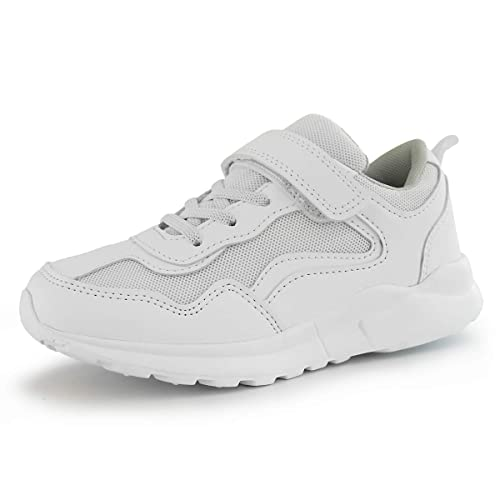 Hawkwell Kids Black White School Uniform Sneaker Toddler//Little Kid//Big Kid
