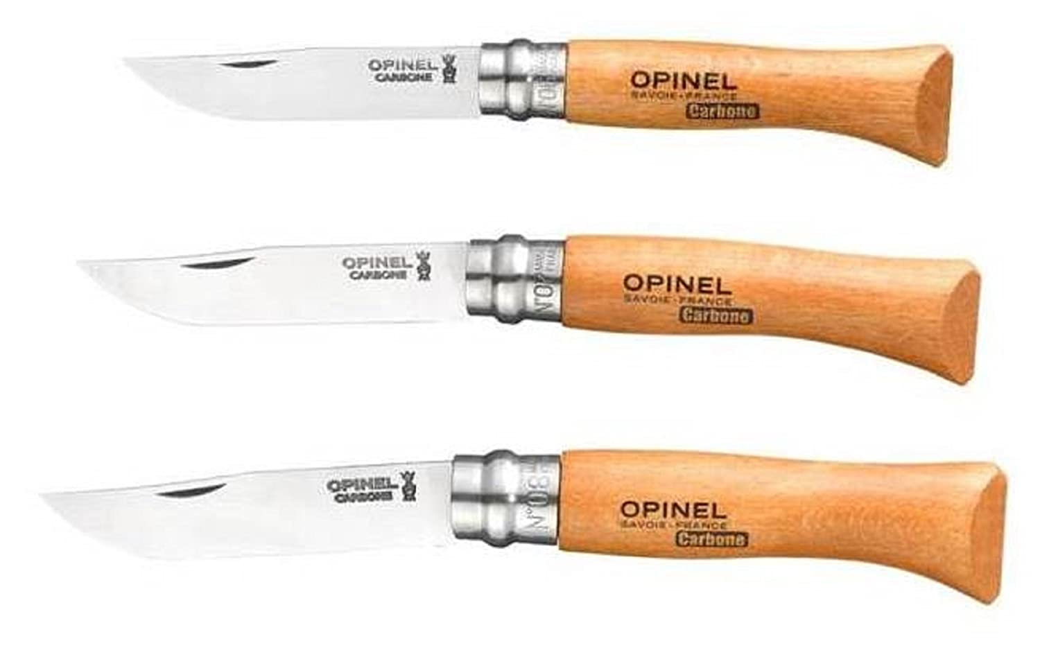 Amazon.com: Bundle – 3 Items: Opinel no 6 cuchillo plegable ...