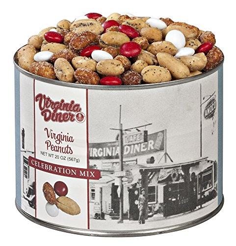 Virginia Diner Celebration Mix, 20 Ounce - Celebration Gift Tin