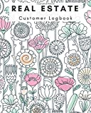 img - for Real Estate Customer Logbook: Watercolor Notebook Management Planner | Clients Portfolio Handbook Journal | Open House Listing Negotiating Record Book ... Organizer (Small Business) (Volume 1) book / textbook / text book