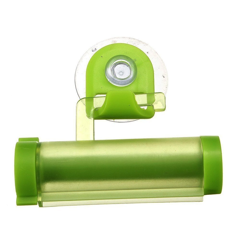 Sky Fish Squeezer Plastic Rolling Tube Toothpaste Dispenser Toothpaste Holder Toothpaste Press Holder Suitable for cosmetics and toothpaste and so on green