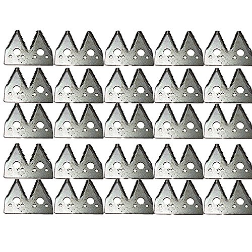 - H163131 (25) Pack Sickle Sections for JD Header 600F 600R 615F 615R 618F 618R