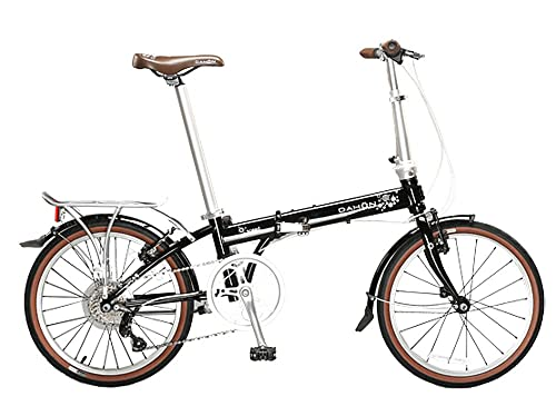 Dahon Speed D7 Obsidian Black Folding Bike Bicycle review