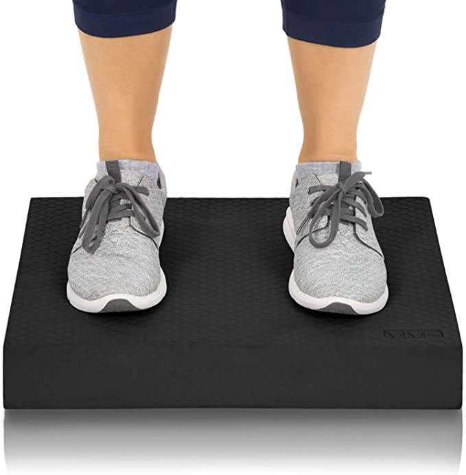 Balance Trainer Pad Soft Pedal Training Cushion Thick Yoga Ankle Stable Mat