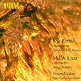 Bartok: Divertimento / Romanian Folk Dances;  Rozsa: Concerto for String Orchestra