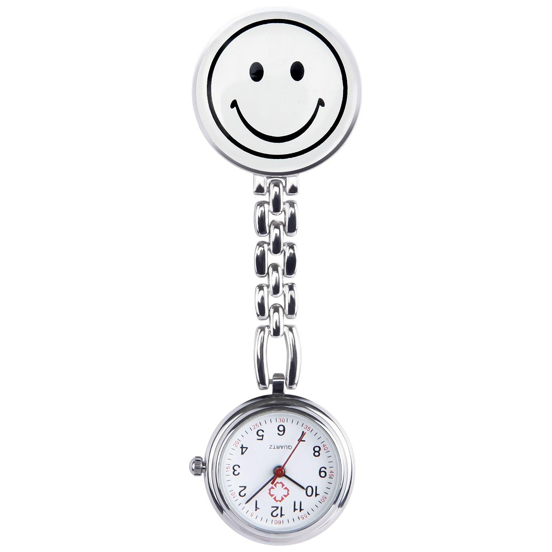 Hiwatch Nurses Smile Digital Analog Lapel Pocket Watch 10