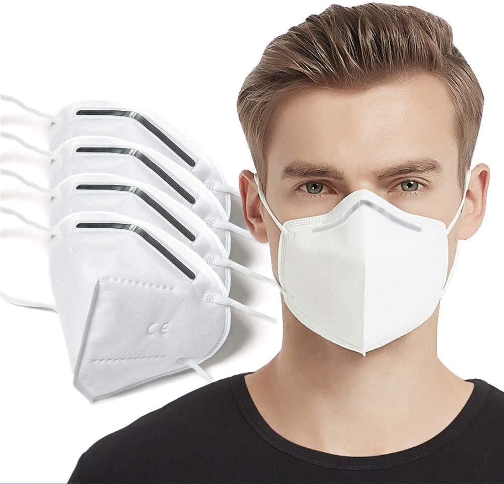 Breathing Dust Mouth for Air Pollution, Replaceable Activated Carbon PM2.5 3-piece