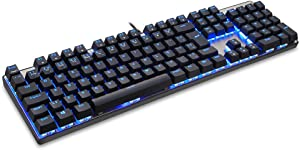 Docooler MOTOSPEED CK104 USB Wired Mechanical Gaming Keyboard Portuguese Key caps Red Blue Switch Keyboard for PC Laptop