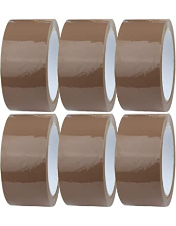 1 Roll of Packing Tape 25mm x 55mm Heavy Duty Clear Packing Tape Provides a Strong Secure and Sticky Seal for Your Boxes and Parcels