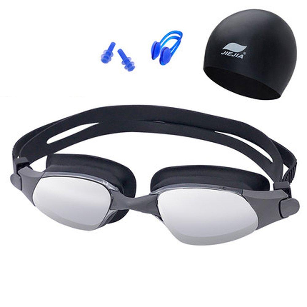 Schwimmengläser Ausrüstung HD Anti-Fog-Mode Plating Schwimmbrille Männer und Frauen Erwachsene Schwimmbrille B07CG8LD8D Schwimmbrillen Ästhetisches Aussehen