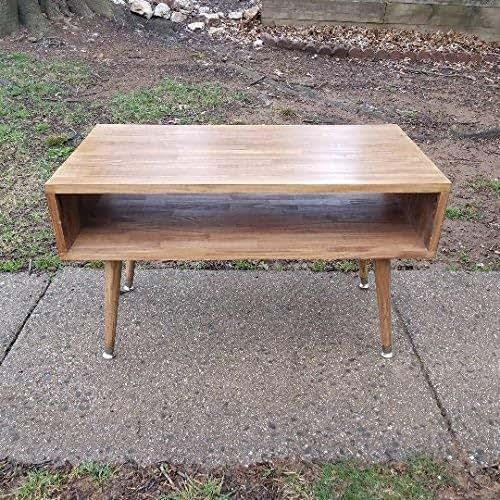 Handmade Mid Century Coffee Table: Amazon.com: Mid Century Modern Coffee Table, Wood Table