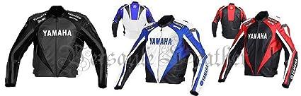 Yamaha R6 Chaqueta para moto de piel.: Amazon.es: Coche y moto