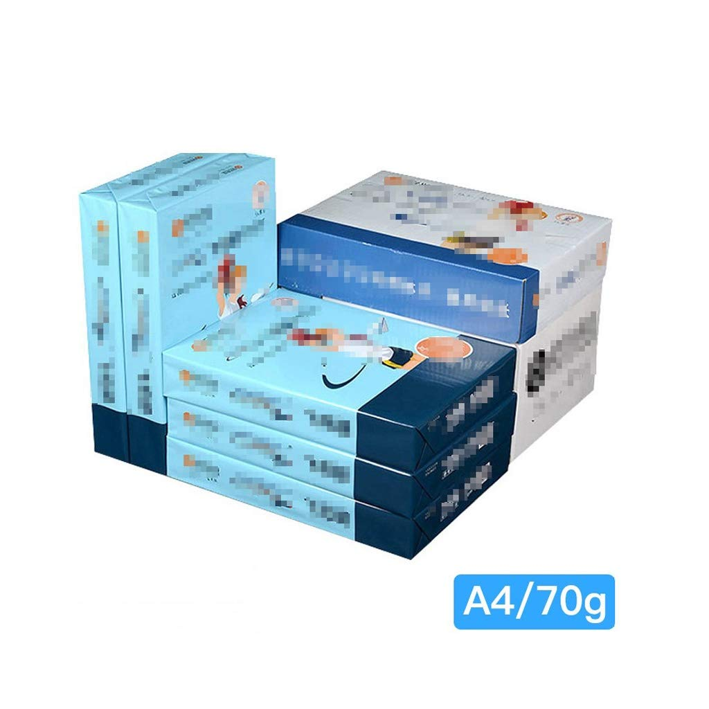 A4 Paper Printing Paper A4 White Paper A4 Copy Paper Office Inkjet Printers Laser Copier Paper Copy Paper a4 Paper Ream (Size : A) by JXLG