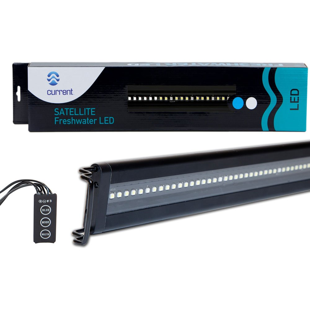 Current USA Satellite Freshwater LED Light for Aquarium, 24 to 36-Inch