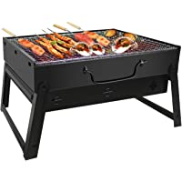 JiaDa Charcoal Barbecue Grill for Outdoor Cooking, Camping, Hiking, Party